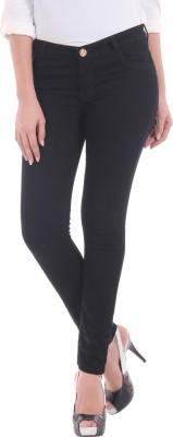 Mynte Skinny Fit Women's Black Jeans