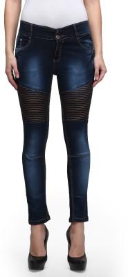 Miss Wow Slim Fit Women's Blue Jeans