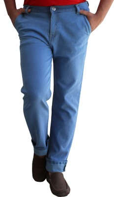 Alan Woods Slim Fit Men's Blue Jeans