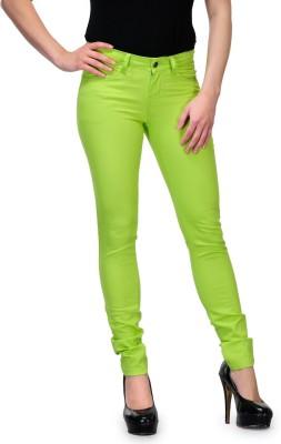 Kiosha Skinny Women's Light Green Jeans