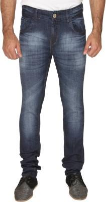 Osia Plus Slim Fit Men's Dark Blue Jeans