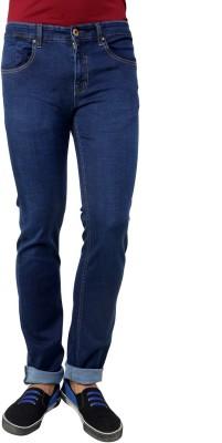 Cotton County Premium Slim Fit Men's Blue Jeans