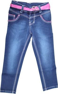 Mankoose Slim Fit Girl's Blue Jeans