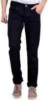 Fingers Jeans (Men's) - Finger's Regular Men's Black, Light Blue, Dark Blue Jeans(Pack of 3)