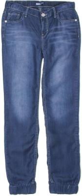 Levi's Slim Fit Girl's Dark Blue Jeans