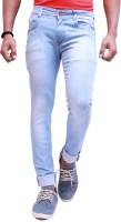 Koncolor Jeans (Men's) - koncolor Slim Men & Women Light Blue Jeans