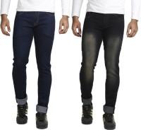 Vs Fashion Jeans (Men's) - VS Fashion Slim Men's Multicolor Jeans(Pack of 2)