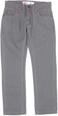 Levis Regular Fit Boys Grey Jeans