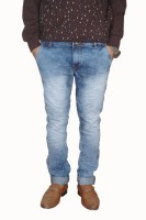 Creazy4 Jeans (Men's) - CREAZY4 Slim Men's Blue Jeans