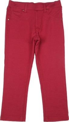 Elle Kids Skinny Girls Red Jeans