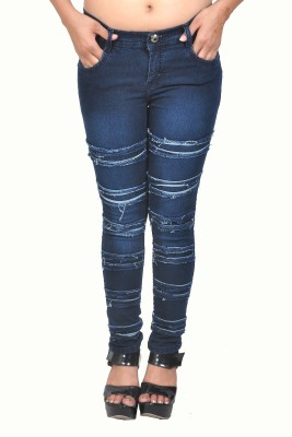 Nifty Slim Fit Women's Blue Jeans
