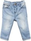 Yk Regular Girls Blue Jeans