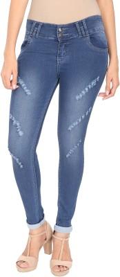 NJ's Slim Women's Light Blue Jeans at flipkart