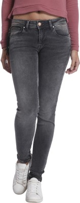 Only Skinny Women's Grey Jeans at flipkart