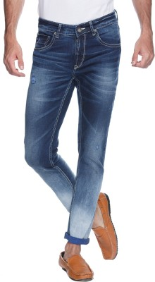 Spykar Skinny Mens Blue Jeans