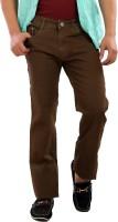 Base6 Jeans (Men's) - Base6 Slim Men's Brown Jeans