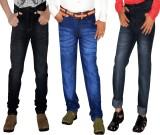 Regular Men's Black, Blue Jeans (Pack of...