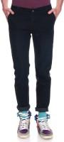 Frankline Slim Men's Black Jeans