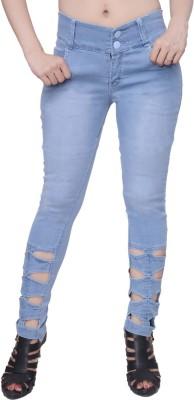 Broadstar Slim Women's Light Blue Jeans at flipkart
