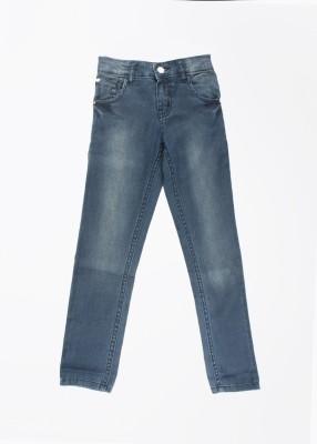 Gini & Jony Regular Fit Girl's Blue Jeans