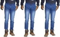 Tycon Jeans (Men's) - TYCON Skinny Men's Light Blue Jeans(Pack of 3)