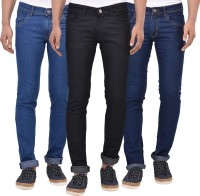 Stylox Jeans (Men's) - Stylox Slim Men's Multicolor Jeans(Pack of 3)