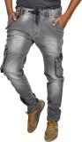 JG FORCEMAN Regular Men's Black Jeans