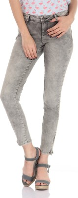 Vero Moda Regular Women's Grey Jeans at flipkart