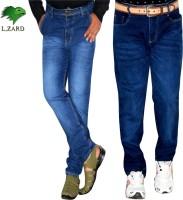 L,zard Jeans (Men's) - L,Zard Regular Men's Blue Jeans(Pack of 2)