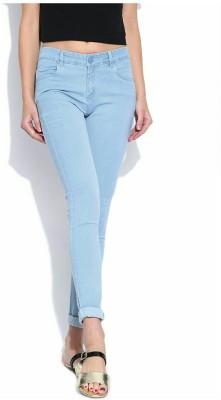 Ico Blue Star Slim Fit Women's Light Blue Jeans