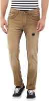 Code 61 Jeans (Men's) - Code 61 Skinny Men's Beige Jeans