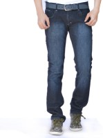 American Indigo Jeans (Men's) - American Indigo Regular Men's Dark Blue Jeans