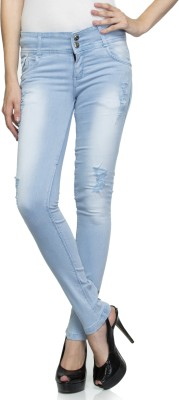 Dashy Club Slim Fit Women's Blue Jeans