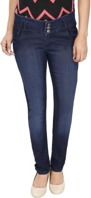 NJ's Slim Women's Dark Blue Jeans at flipkart