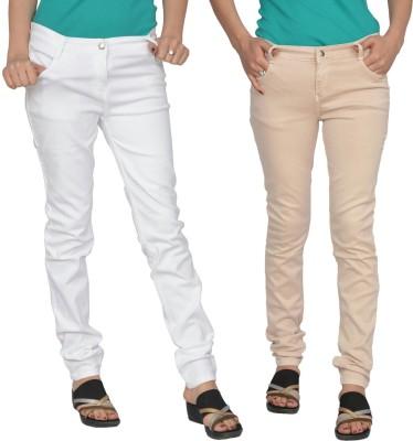 Smart Lady Slim Fit Women's Multicolor Jeans