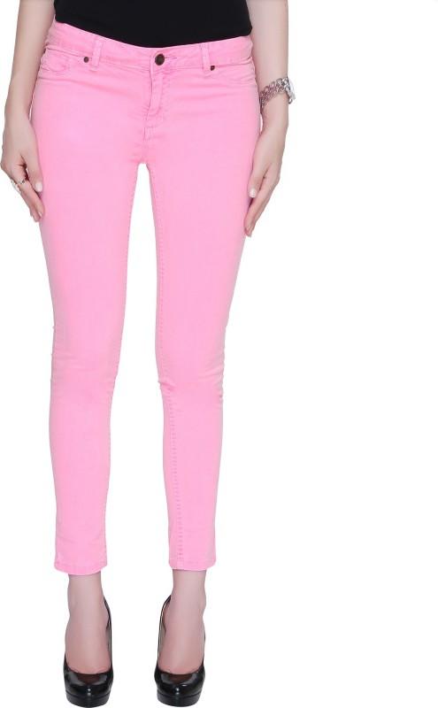Bedazzle Regular Women's Pink Jeans