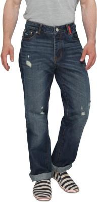 Again? Vintage Slim Fit Men's Dark Blue Jeans