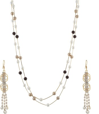 One Stop Fashion Alloy Jewel Set(Multicolor) at flipkart