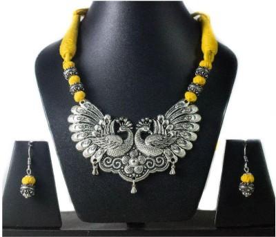 Tandra,s Fashion Jewellery Alloy Jewel Set(Yellow)