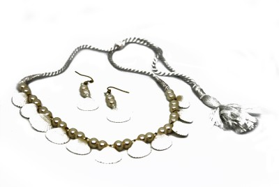 MoreBangla Shell Jewel Set(White) at flipkart