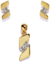 Golden Peacock Alloy Jewel Set best price on Flipkart @ Rs. 349