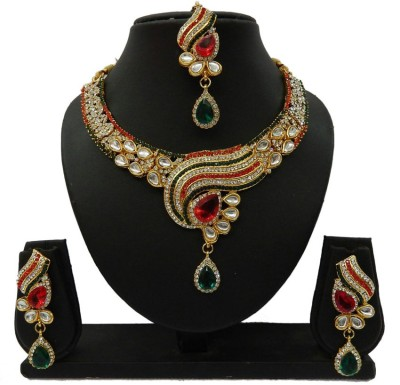 Shree Bhawani Art Jewellery Alloy Jewel Set(Multicolor)