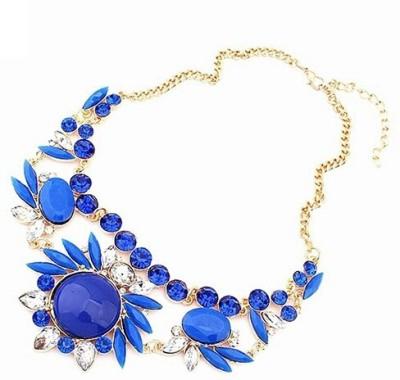 FreshMe Fashion Jewellery Zinc Jewel Set(Blue)