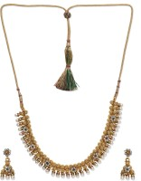 Golden Peacock Alloy Jewel Set best price on Flipkart @ Rs. 799