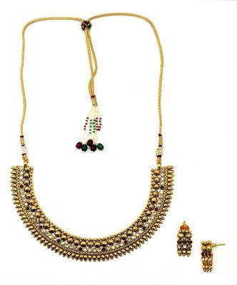 Poetry Accessories Zinc Jewel Set(Gold)