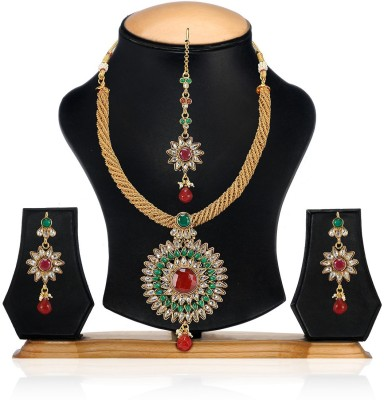 Aamoye Copper Jewel Set(Multicolor) at flipkart