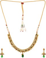 Golden Peacock Alloy Jewel Set best price on Flipkart @ Rs. 1299