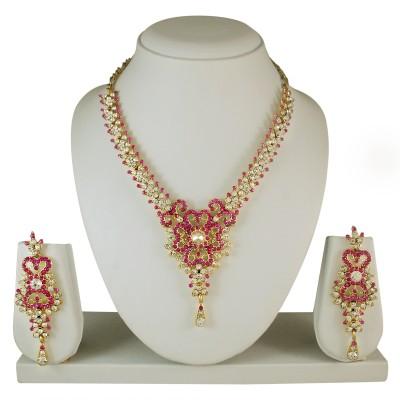 Atasi International Alloy Jewel Set(Multicolor)