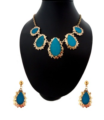 Modish Look Brass Jewel Set