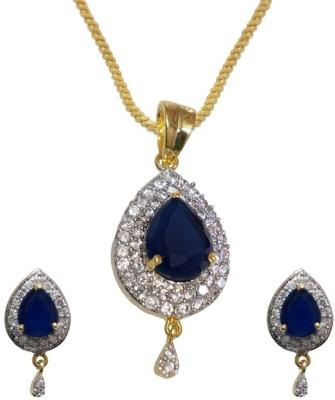 Sheetal Jewellery Brass, Alloy Jewel Set
